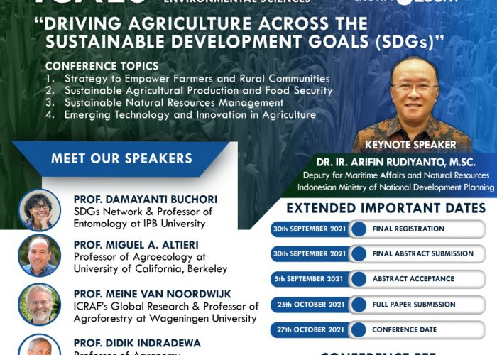 ICAES – Register Yourself For The International Conference Agriculture and Environmental Sciences Now!